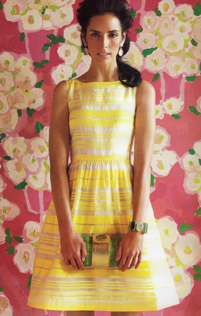 Dress in Lemon Sorbet